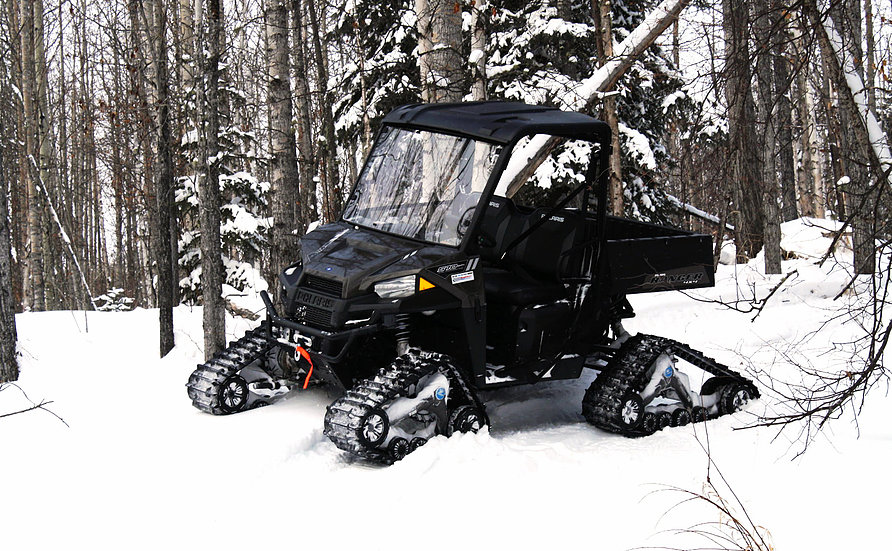 Tracked And Cabbed Side By Side UTV Rentals- Edson, Edmonton, Fox Creek