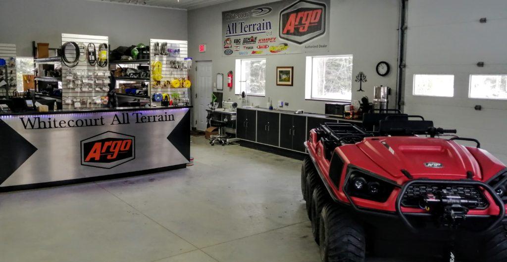 Showroom Front desk